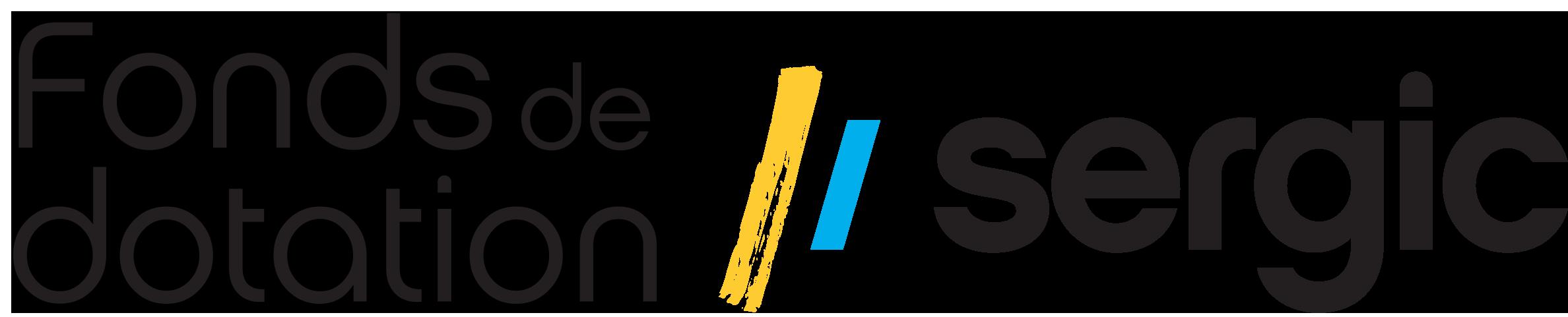 fond de dotation sergic logo